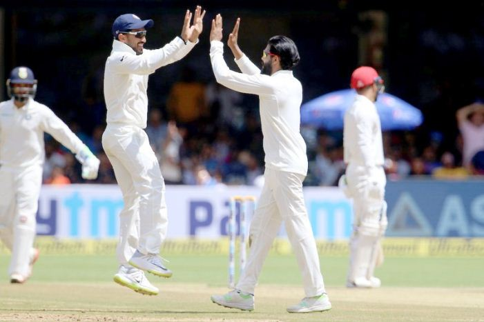 India overwhelm Afghanistan by an innings and 262 runs