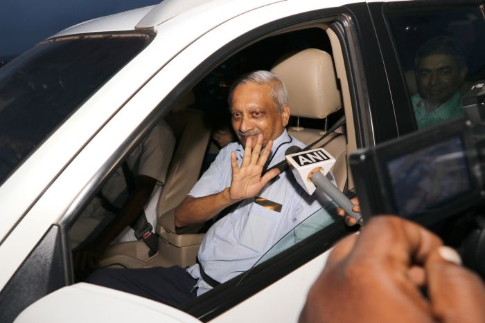 Parrikar back in Goa June 14, 2018