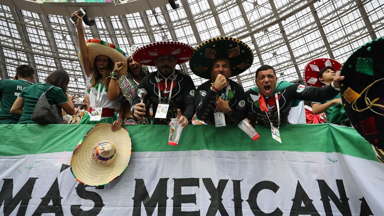 Mexico shock World Cup holders Germany