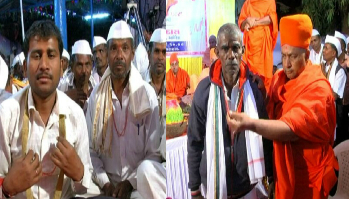 200 families return to Hindu faith in an event in South Gujarat