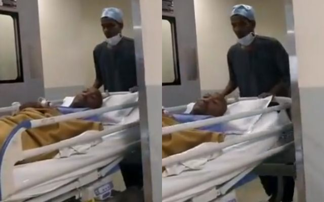 Image result for Lara's chest retrieves hospital after complaining of pain
